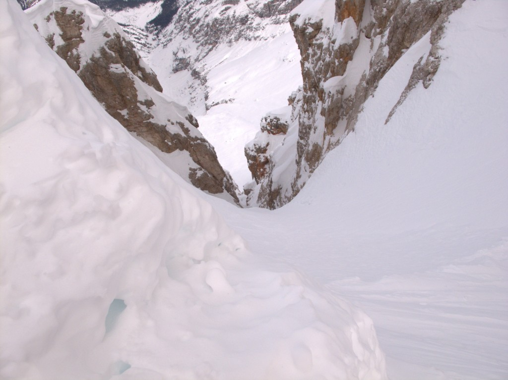 The couloir, nogo